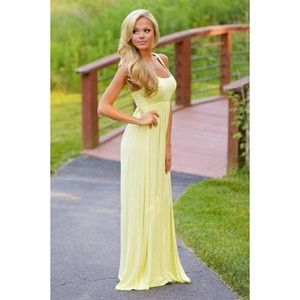 You Should Be Here Maxi Dress